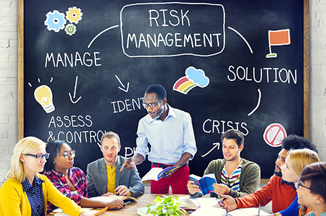 Risk Management Solution Crisis Identity Planning Concept