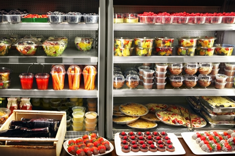 prepared produce and food in fridge avoid recalls