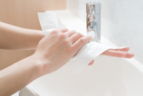 hand drying blog